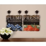 Uttermost Plump Blueberries & Fresh Strawberri