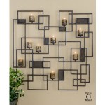 Uttermost Siam, Candlelight Wall Sculpture