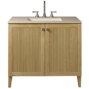 "Porcher - Archive 36"" Bathroom Vanity in Maple"