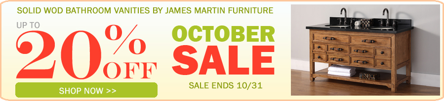 James Martin Bathroom Vanity Sale