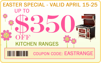 Kitchen Range discount coupons