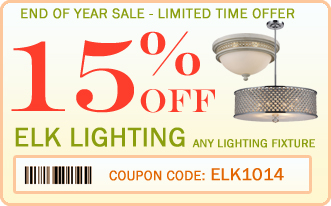 15% off all Elk Lighting