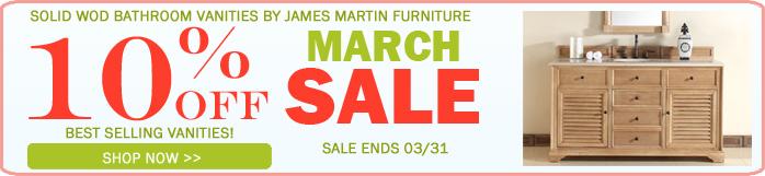 James Martin Bathroom Vanity Sale