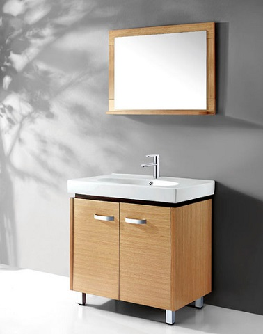 "31"" WC019 Bathroom Vanity in Natural Pine from Legion Furniture"