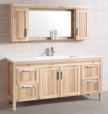"Desert Sand 71"" Bathroom Vanity WT9388 from Legion Furniture"