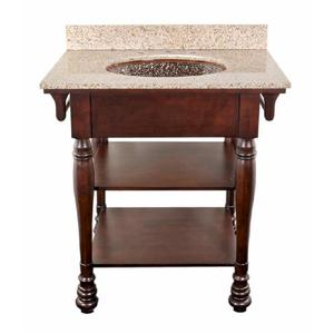 Espresso Chess Bathroom Vanity from JSG Oceana