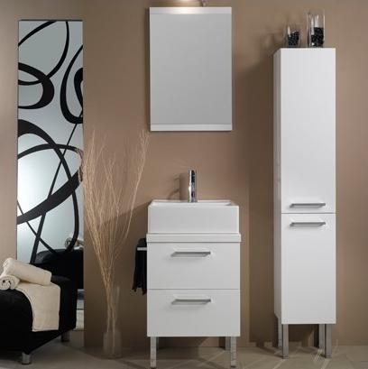 Aurora Square Vanity Set From Iotti
