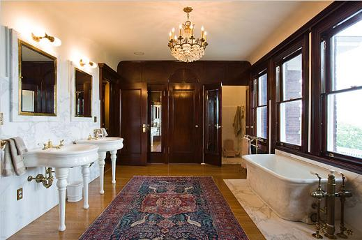 Edwardian Bathroom Designed by Jean Strahan