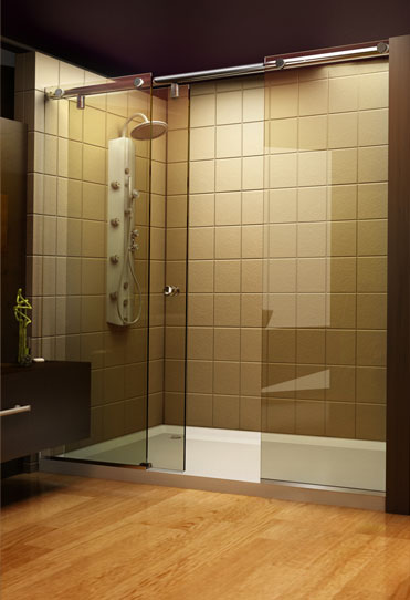 Evo Shower Door Panels From Roda By Basco