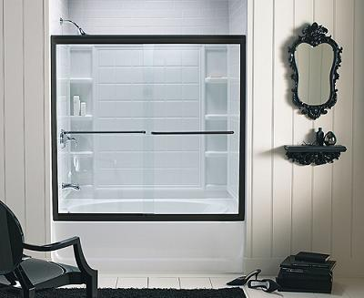 finesse shower tub door from sterling