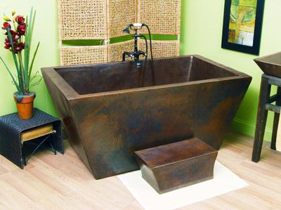 Lexington Copper Freestanding Tub From Sierra Copper