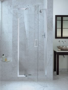 purist frameless shower door from kohler