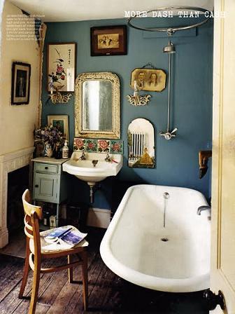 Cozy Contemporary Take On Victorian Bathroom Design