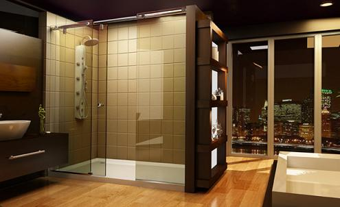 Evo Shower Enclosure With Shower Panel From Roda By Basco