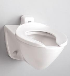 flushometer ada approved wall mount toilet from toto - Wall Mount Toilet