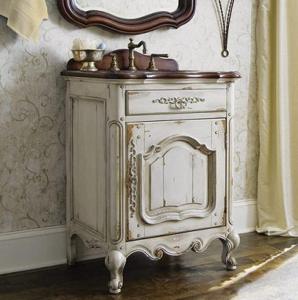 Heirloom Bathroom Vanity From Cole and Co