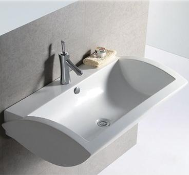 isabella rectangular wall mount sink from whitehaus