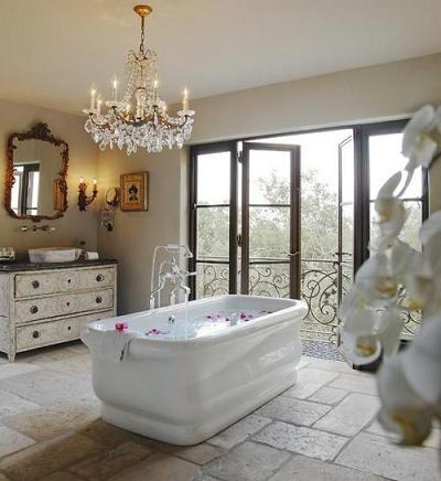 Bon Luxurious Rustic Italian Style Bathroom Part 97