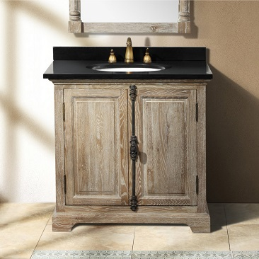 "Providence 35.5"" Driftwoo Single Cabinet Vanity From James Martin Furniture"