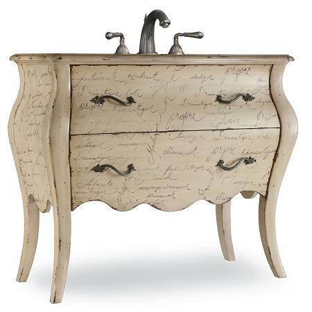Romantique Bathroom Vanity From Cole and Co