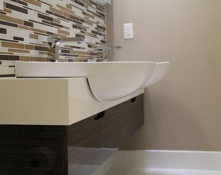 Tile BacksplashAccent Wall In Martini Mosaic Tile