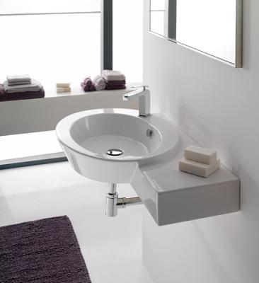 wish wall mounted bathroom vanity from scarabeo