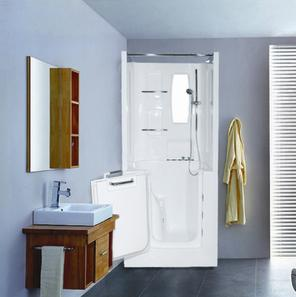 3140 Walk In Seated Shower Enclosure From Meditub