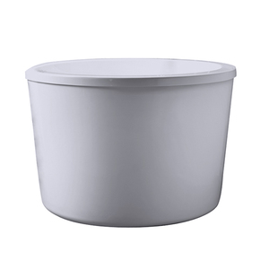 Acrylic Round Japanese Soaking Tub From Barclay