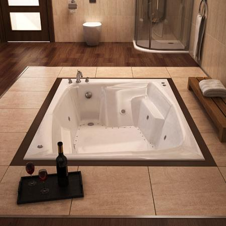 Caresse Drop In Air Jet Tub From Atlantis