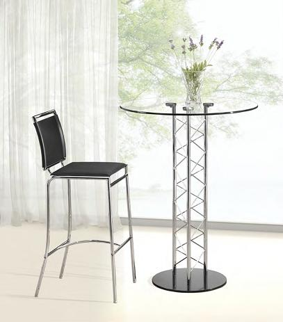 Chardonnay Bar Table And Soar Bar Stool From Zuo