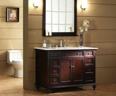 Glenayre 48 Inch Transitional Bathroom Vanity From Xylem