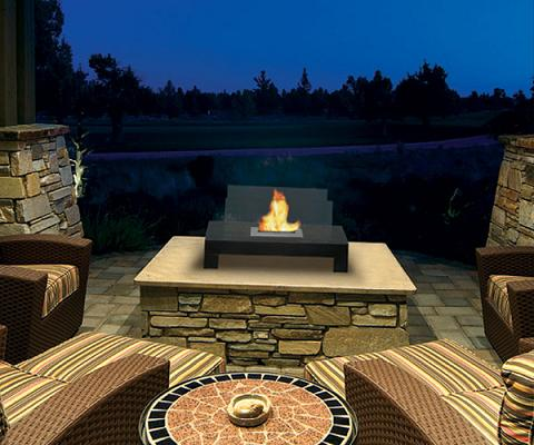 Gramercy Tabletop Outdoor Fireplace From Anywhere Fireplace