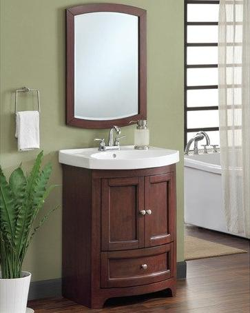 Howard Transitional Bathroom Vanity From Carolina Accents