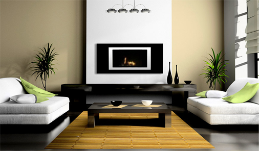 Lorenzo Bio-Ethanol Fireplace From BioFlame