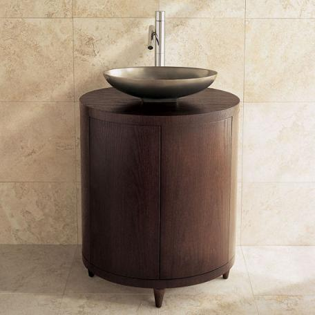 Ovale 28 Inch Oval Vanity From Porcher