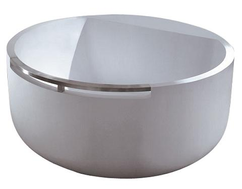Resin Modern Round Japanese Soaking Tub From Barclay