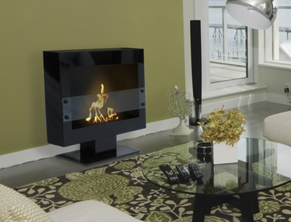 Tribeca II Bio Ethanol Ventless Fireplace From Anywhere Fireplace