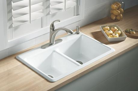 Anthem Cast Iron Kitchen Sink from Kohler