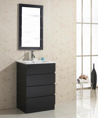 Bruno Rubberwood Bathroom Vanity From Virtu USA