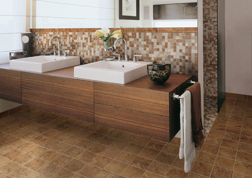 Denver Rust Mosaic Tile From Cerdomus