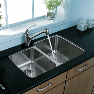 Double Bowl Stainless Steel Sink From Vigo
