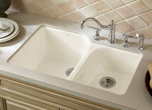 Executive Chef Double Bowl Undermount Sink From Kohler