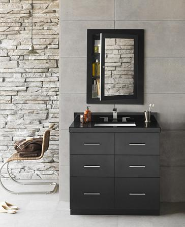 Lassen Strawboard Bathroom Vanity From Ronbow
