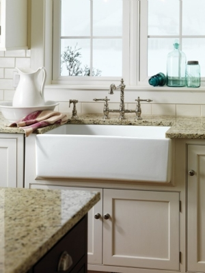 Good Undermount Farmhouse Sink From Barclay
