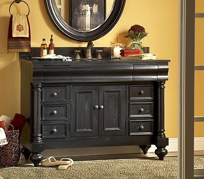 Little Black Bathroom Vanities Dressing Up Your Bathroom Decor