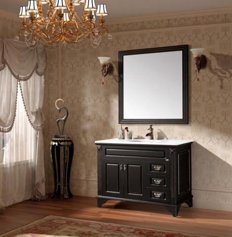 Black Vanities For Bathrooms black and white bathroom vanities - a contemporary twist on a