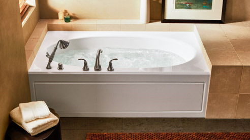 Windward Whirlpool With Apron From Kohler