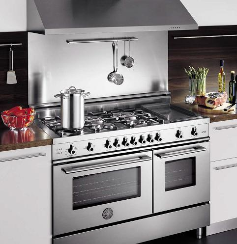 High Quality 48 Inch Pro Series Kitchen Range From Bertazzoni