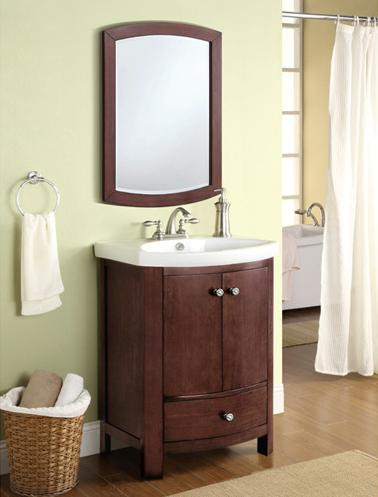 Adams Walnut Vanity From Carolina Accents