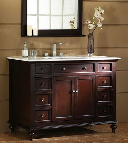 evolution of bathroom vanities from antique to modern